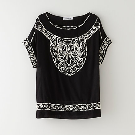 IKKA EMBROIDERED TOP
