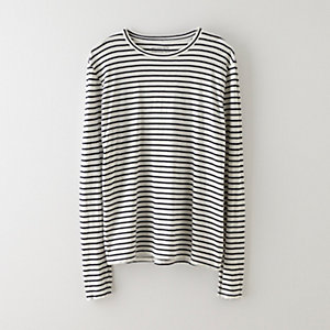 LONG SLEEVE STRIPE CREW