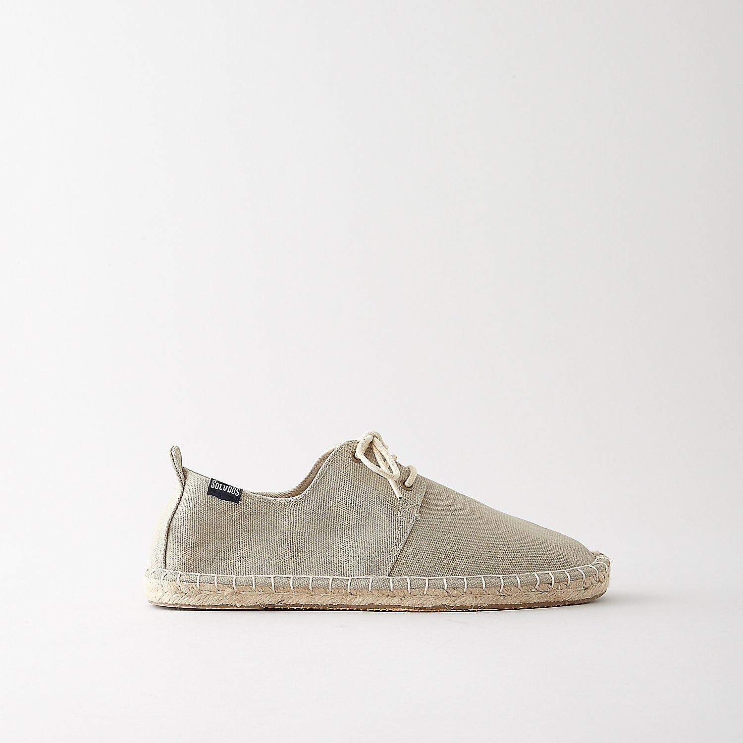 DERBY LACE UP WASHED CANVAS