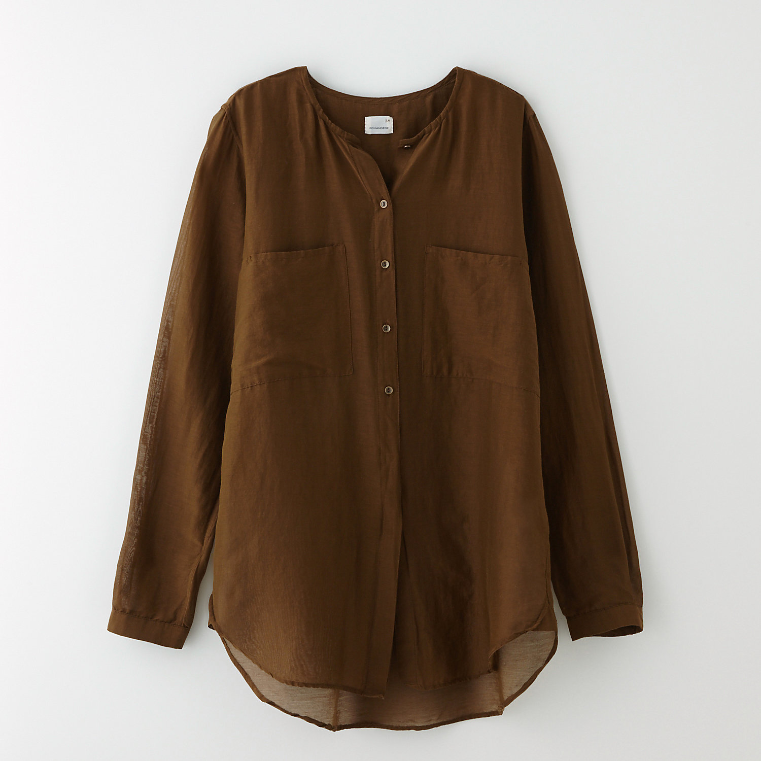 TWO POCKET BLOUSE