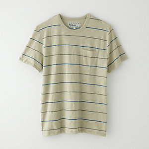 STRIPED POCKET TEE SHIRT