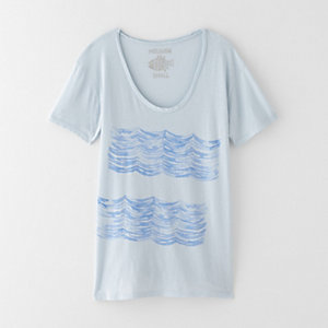 SHADOW WAVES TEE