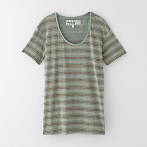 DOTS AND ARROWS SCOOP TEE