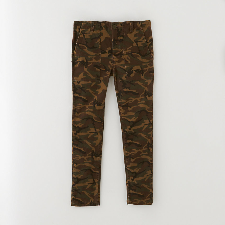 SLOUCH UTILITY TROUSER