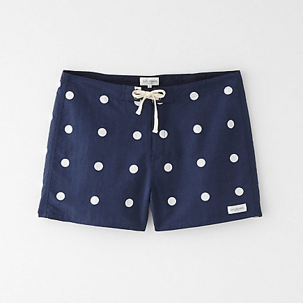 THIGH POLKA DOT BOARDSHORT
