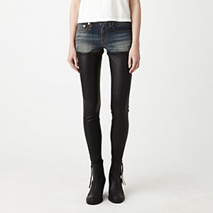 SKINNY LEATHER CHAPS
