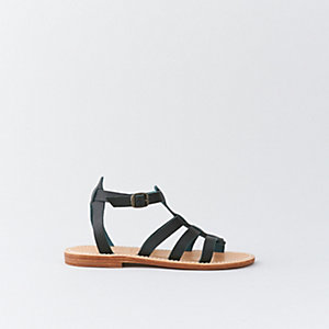 TRANSAT 1 LEATHER SANDAL