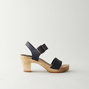 TWO STRAP SANDAL HEEL