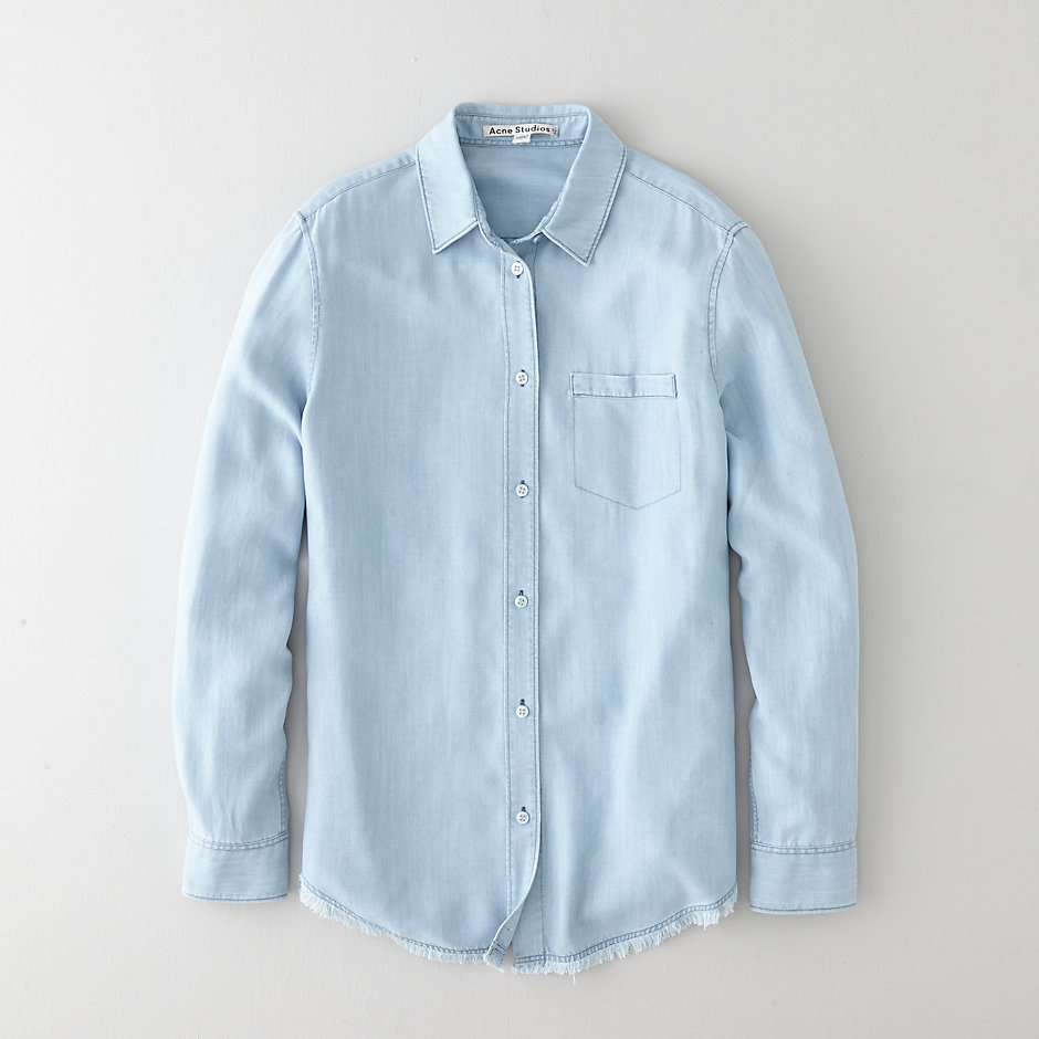 WAVE DENIM SHIRT