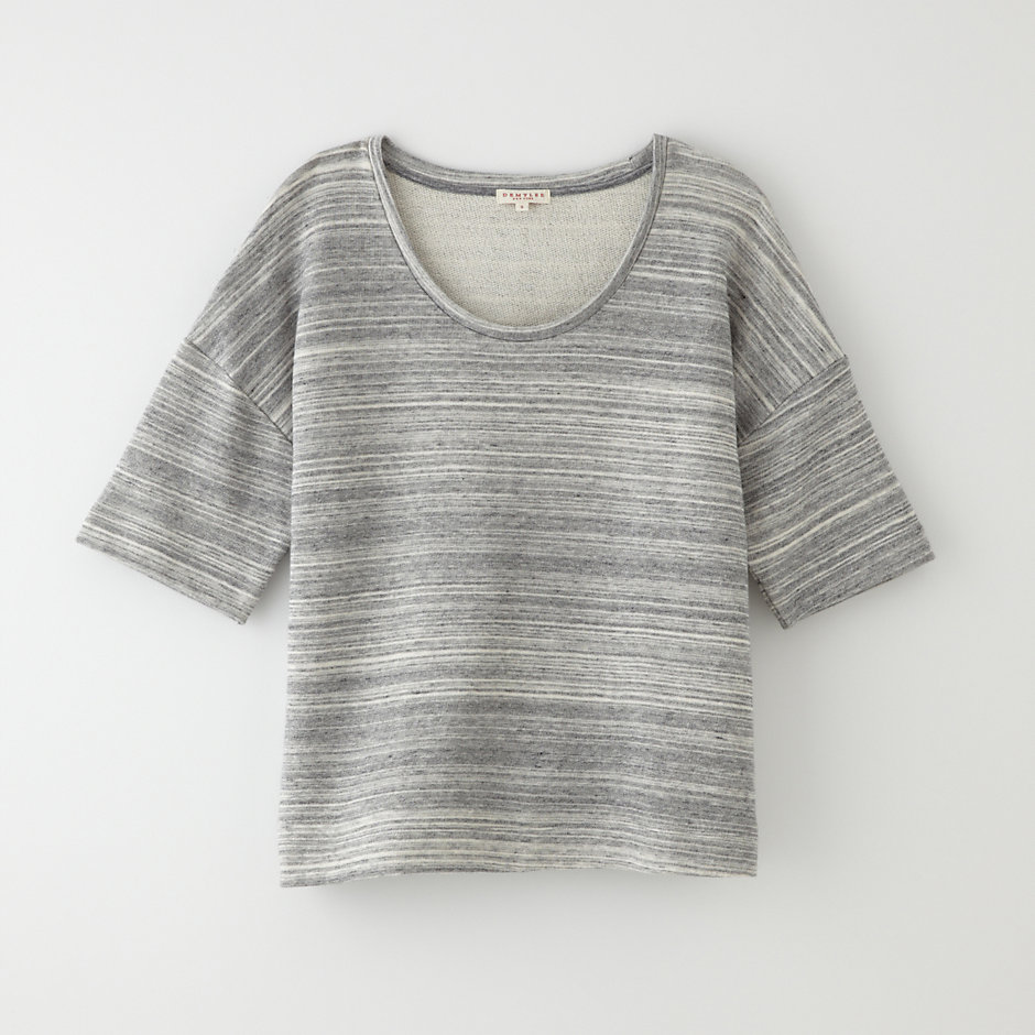 MARLED COTTON TERRY TEE