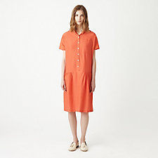 DROPPED WAIST SHIRTDRESS