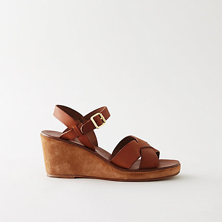 CLASSIC WEDGE SANDALS