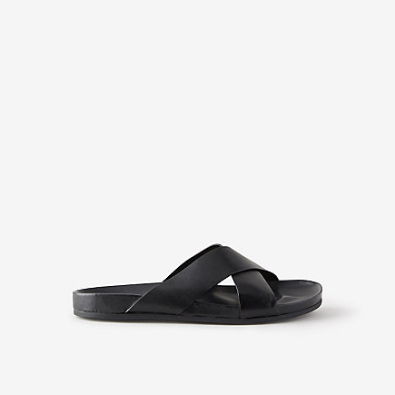 CROSS BACK SLIDE SANDAL