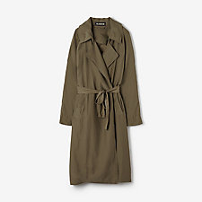 SUMMER TRENCH FLAX