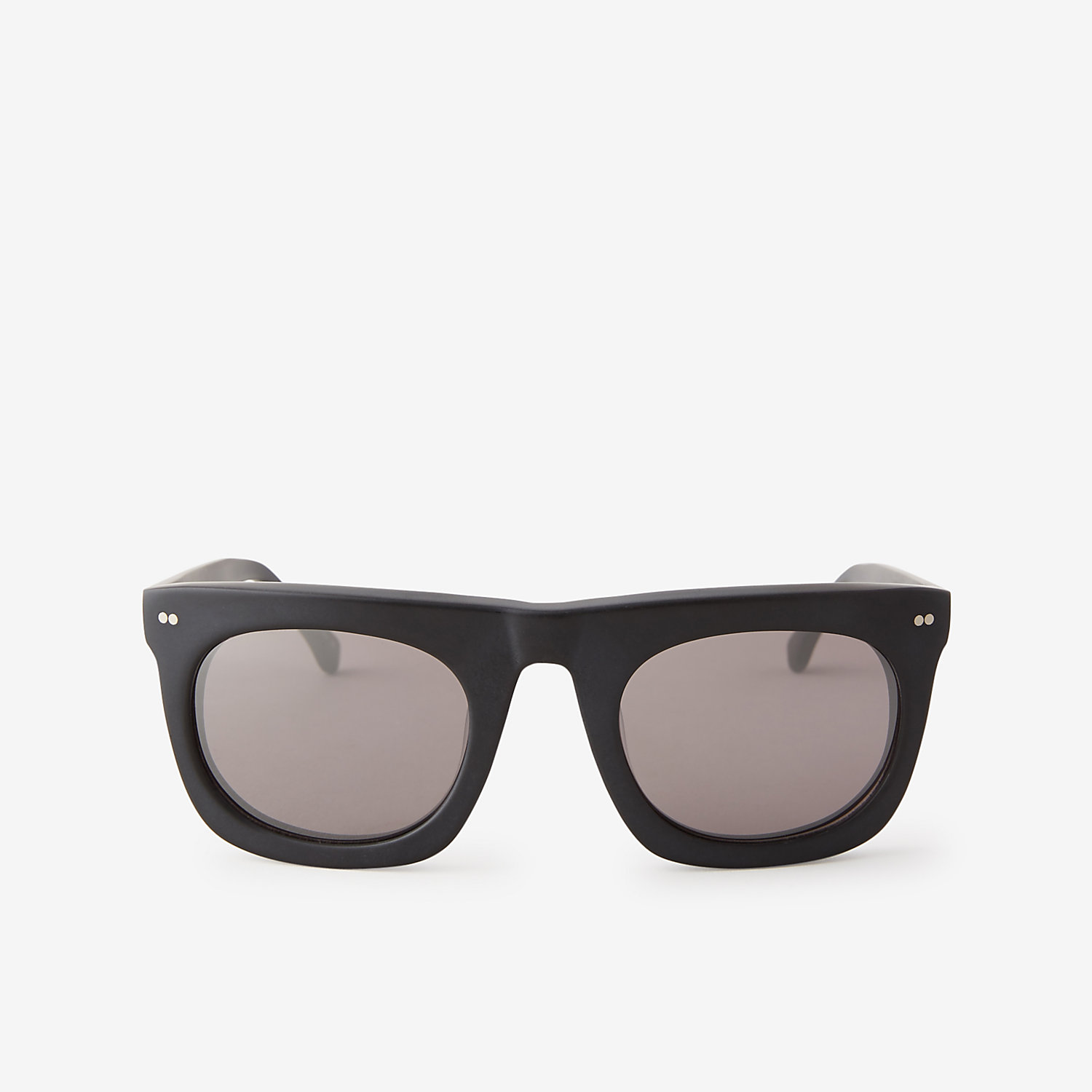 MATTE BLACK BERGEN SUNGLASSES