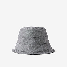 COTTON LINEN BUCKET HAT
