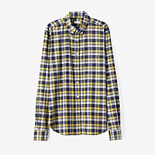 WHITE ASH MELANGE PLAID