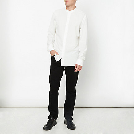 BAND COLLAR EXPLORER SHIRT