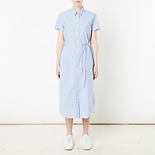 BELTED LONG SHIRTDRESS
