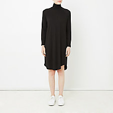 RAGLAN TURTLENECK DRESS