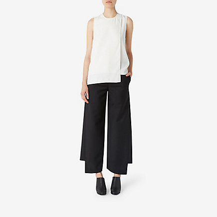 HADDIE CREPE WIDE LEG TROUSERS