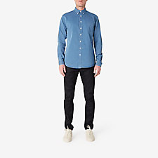 LEISURE INDIGO JEAN SHIRT