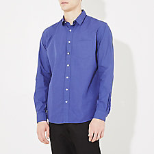 RUMPLED LEISURE POPLIN ONE SHIRT