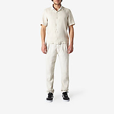 PLEATED LINEN PANT