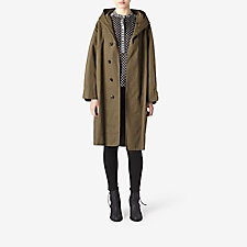 MARLEY HOODED TRENCH COAT