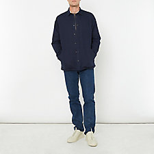 JENS COTTON LINEN BROKEN TWILL SHIRT