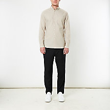 MONOGRAM POPLIN BUTTON-DOWN SHIRT