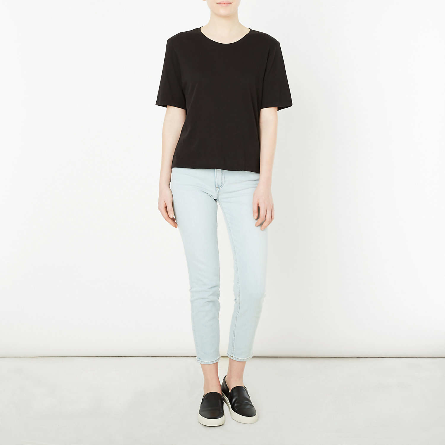 BOXY TEE SOLID