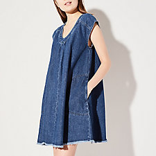 DENIM ARROYO DRESS