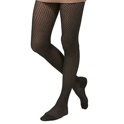 SMALL LOZANGES PATTERN TIGHTS
