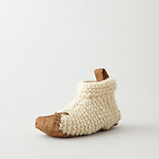 KNITTED HOUSE SHOE
