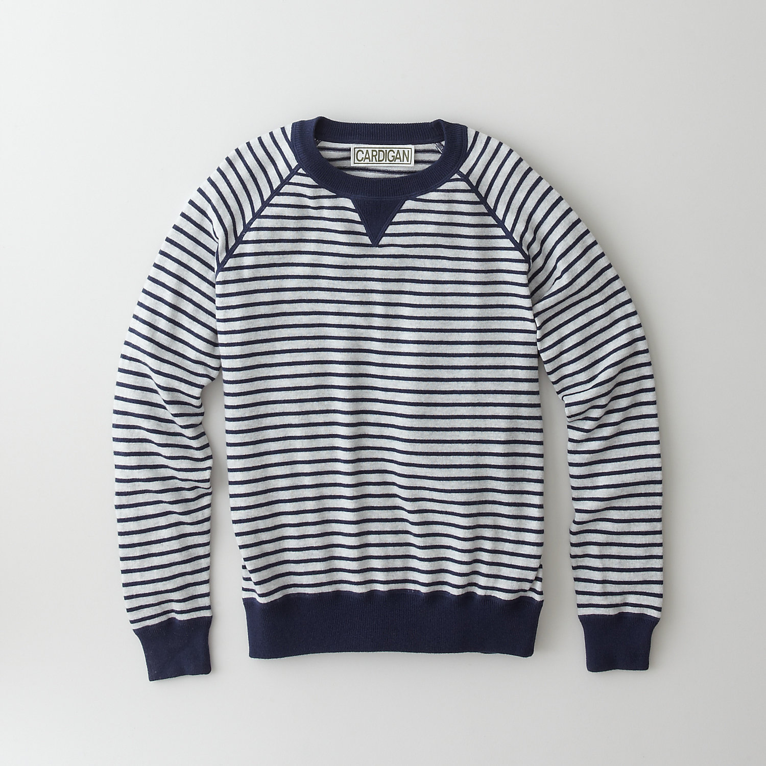 STRIPED DEAN SWEATSHIRT