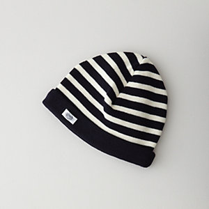 STRIPED WOOL HAT
