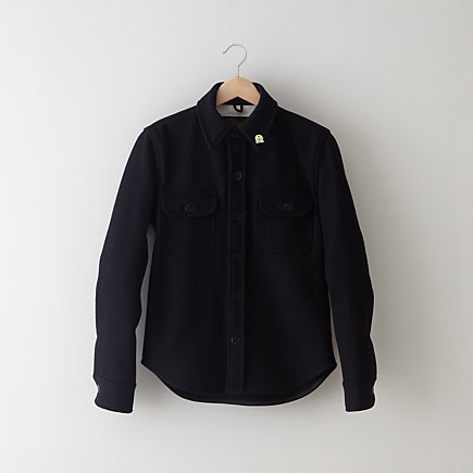 WOOL CPO SHIRT JACKET