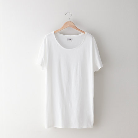 Above Oversized Scoop Neck T-Shirt