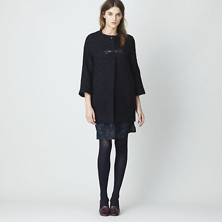 FORTY FIVE PATENT BUCKLE COAT