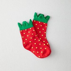 KIDS STRAWBERRY SOCK