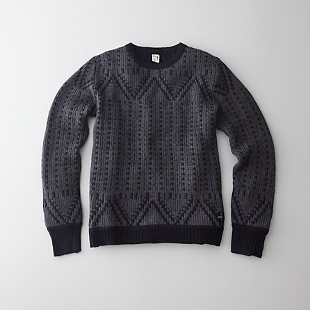 NUBBS CREW SWEATER
