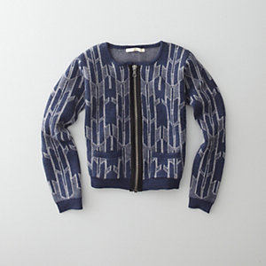 DAYBREAK ZIP CARDIGAN