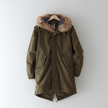 MILITARY FISHTAIL PARKA