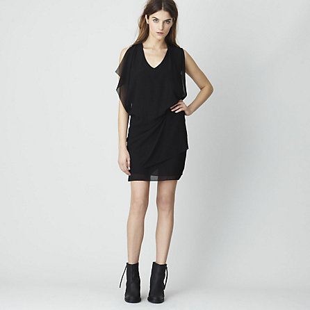 MALLORY CREPE DRESS