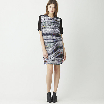 Mallory Tuning Print Dress