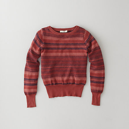 MIKAT STRIPED SWEATER