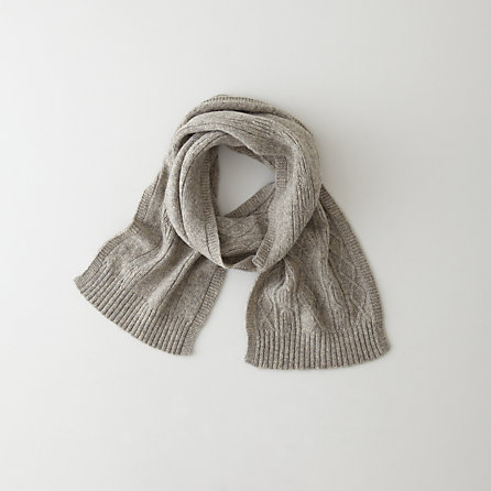 GEORGE CABLE SCARF