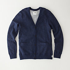 SPECKLED FLEECE CARDIGAN