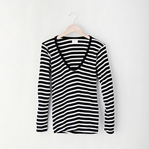 SCOOP LONG SLEEVE TEE
